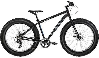KS Cycling Fatbike »Xceed«, 7 Gang Shimano Tourney Schaltwerk, Kettenschaltung kaufen