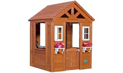 BACKYARD DISCOVERY Spielhaus »Timberlake«, BxTxH: 107x117x140 cm kaufen