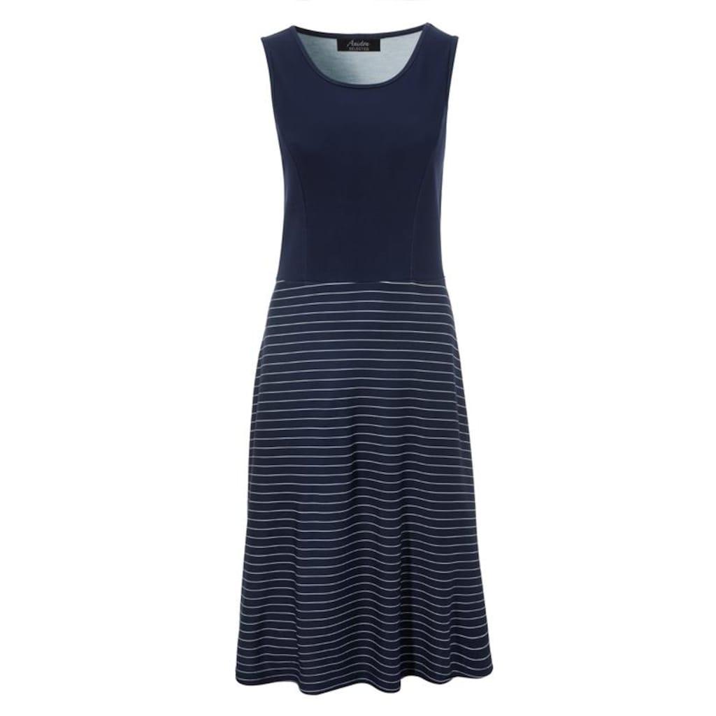 Aniston SELECTED Sommerkleid, im maritimen Stil - NEUE KOLLEKTION