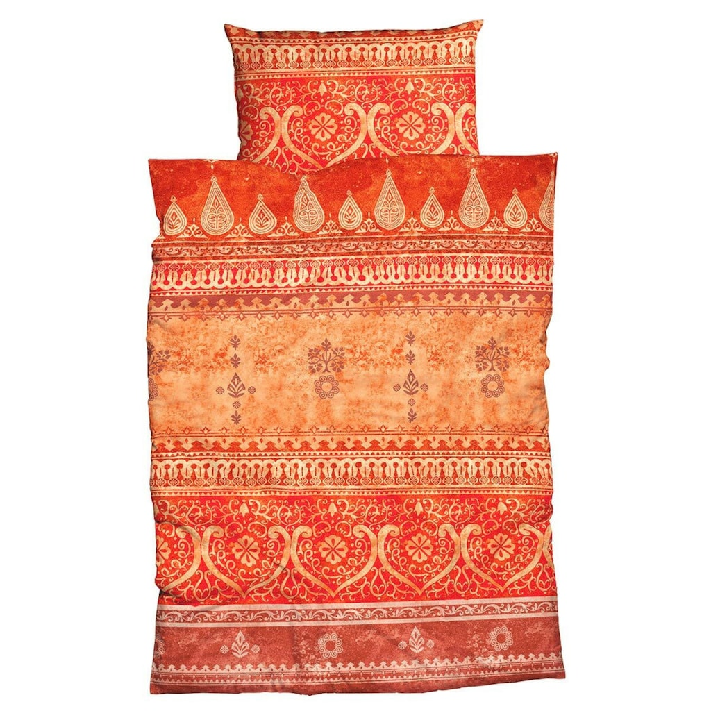 TRAUMSCHLAF Bettwäsche »Indi Muskat«, orientalisches Design