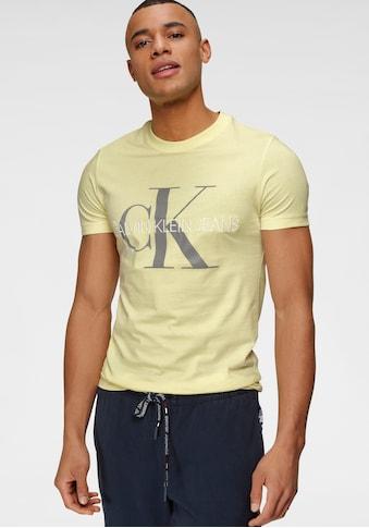 Calvin Klein Jeans T - Shirt »VEGETABLE DYE MONOGRAM SLIM TEE« kaufen