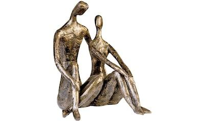 Casablanca by Gilde Dekofigur »Skulptur Date«, Dekoobjekt, Höhe 26 cm, Pärchen, mit... kaufen