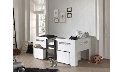 Vipack Einzelbett »Luca«, mit 2 Rollkästen kaufen