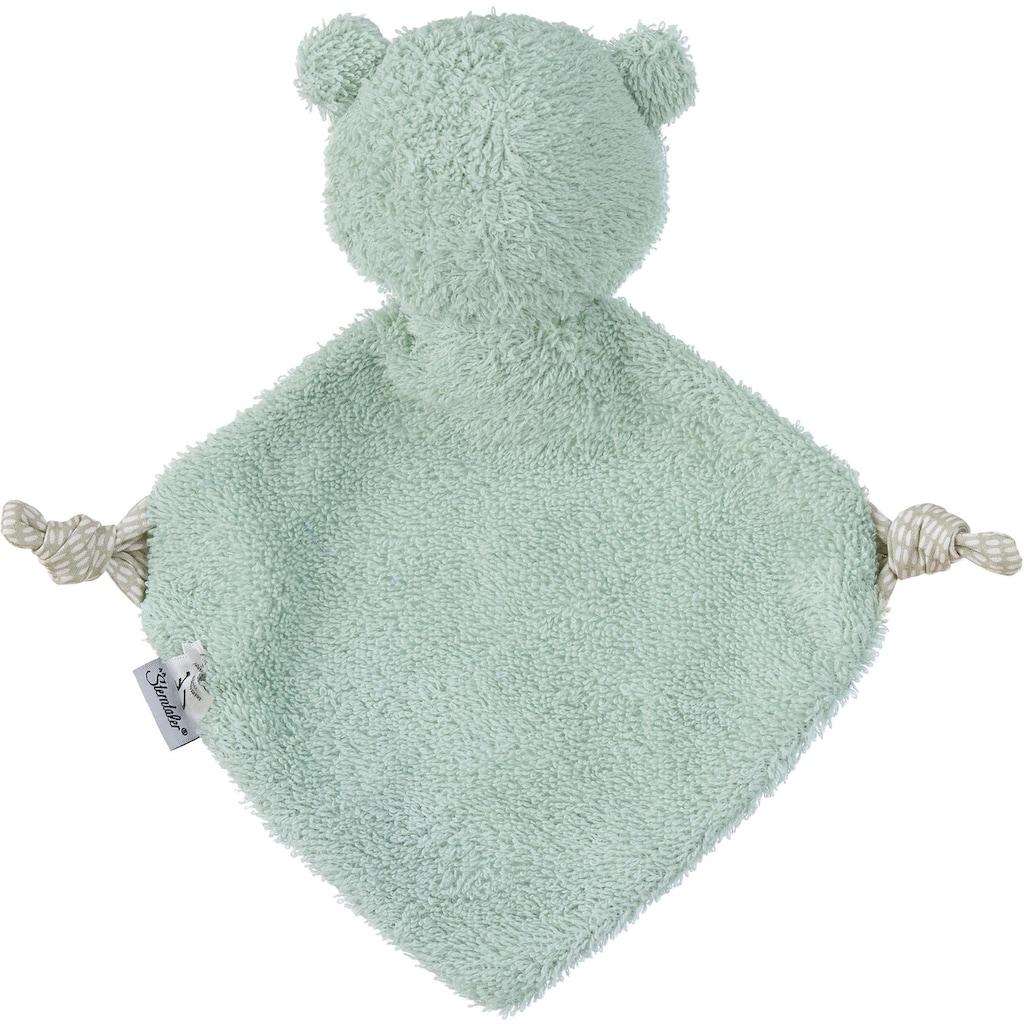 Sterntaler® Schmusetuch »Medium Baylee, green«