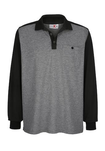 Roger Kent Poloshirt in Raglan - Optik kaufen