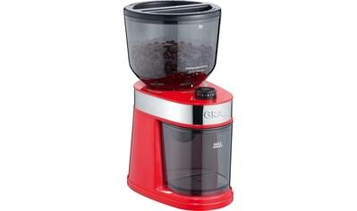 Graef Kaffeemühle »CM 203, rot«, 130 W, Scheibenmahlwerk, 225 g Bohnenbehälter kaufen