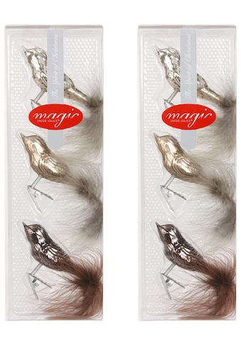 INGE - GLAS® Glas - Vogel - Set »Magic«, ((6 - teilig)) kaufen