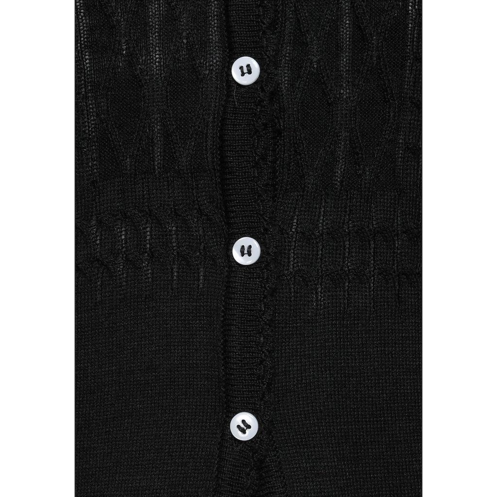 Boysen's Strickjacke, im Longline-Stil
