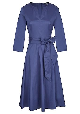 Daniel Hechter Schönes Kleid mit breitem Bindegürtel kaufen