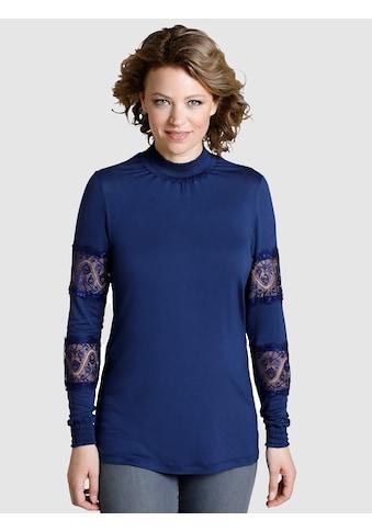 Dress In Shirt mit Spitzeneinsatz am Arm. kaufen