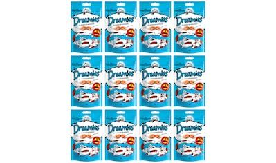 Dreamies Katzensnack »Lachs«, (Set, 12), 12 Beutel á 60 g kaufen