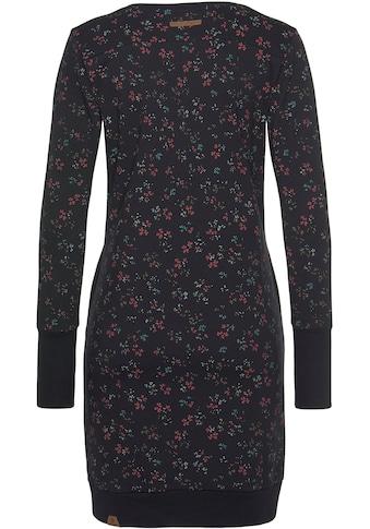Ragwear Sweatkleid »MENITA O«, im Mille-Fleur All Over-Print kaufen