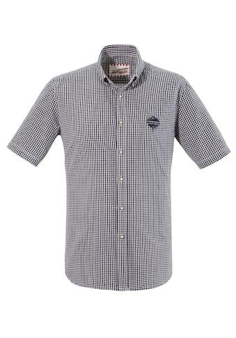 Andreas Gabalier Kollektion Trachtenhemd, mit Mountainman-Logo Applikation kaufen