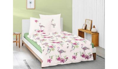 Irisette Bettwäsche »Eos 8088«, mit modernem Flamingomotiv kaufen