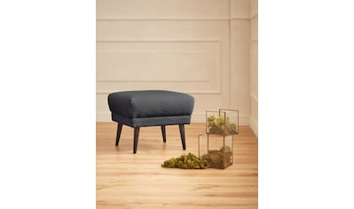 """Guido Maria Kretschmer Home&Living Polsterhocker »Teddyka«, passend zur """"Teddyka""""- Serie - Bezug in Luxus-Microfaser in Teddyfelloptik kaufen"""