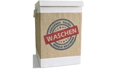 Franz Müller Flechtwaren Wäschebox »Krims Krams«, mit Deckel kaufen