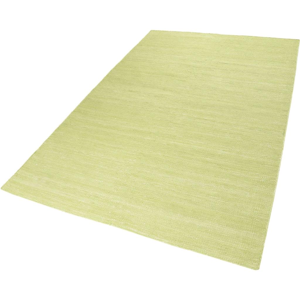 Esprit Teppich »Rainbow Kelim«, rechteckig, 5 mm Höhe, Flachgewebe, Wohnzimmer