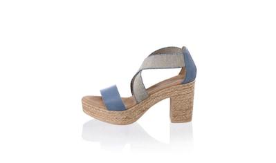 Alba Moda Sandalette mit Glanzgarn kaufen