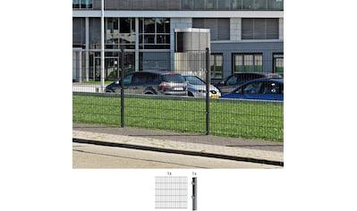GAH ALBERTS Doppelstabmattenzaun Anbauset 100 cm hoch, 1 Matte 2 m, 1 Pfosten kaufen