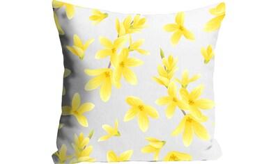 queence Kissenhülle »Asiatic Lily«, (1 St.), mit gelben Blumen kaufen