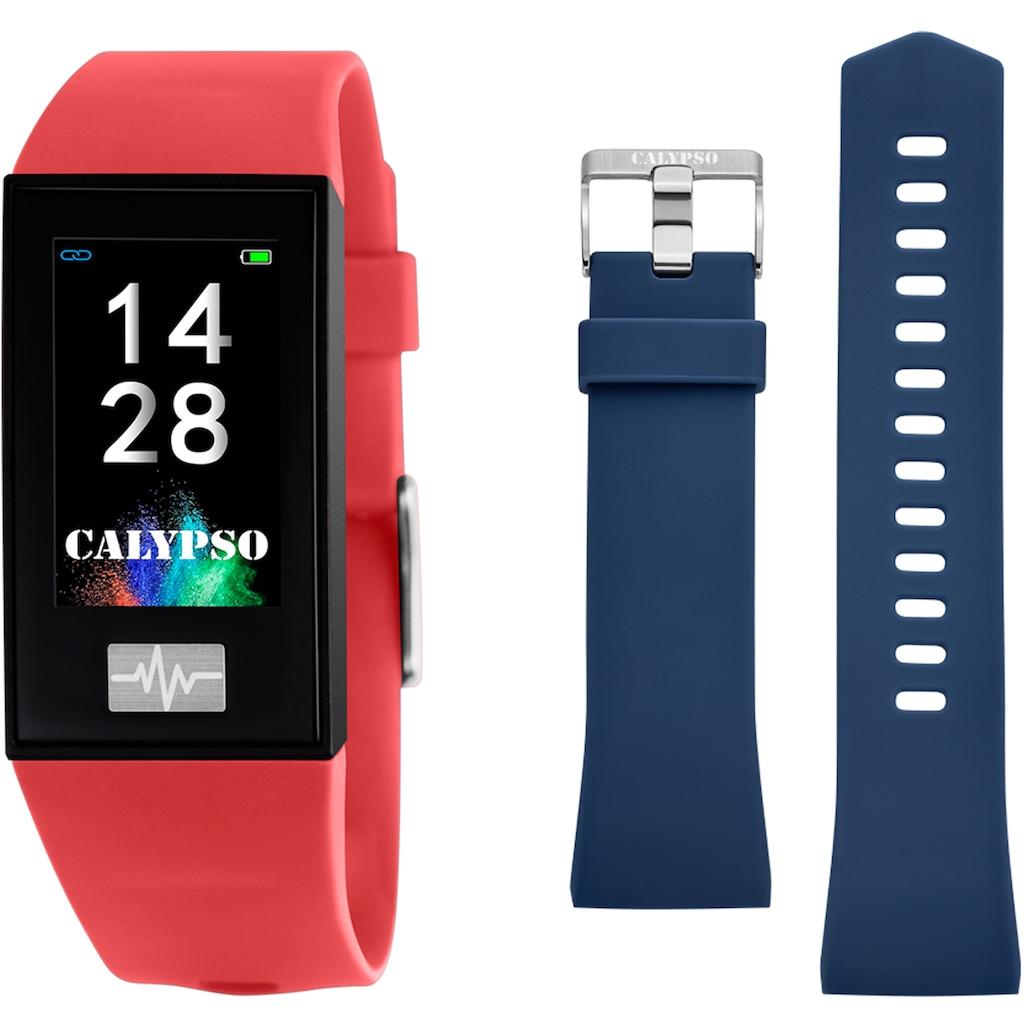 CALYPSO WATCHES Smartwatch »Smartime, K8500/4«, ( mit blauem Wechselband)
