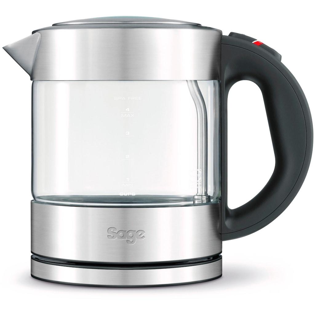 Sage Wasserkocher »the Compact Kettle Pure, SKE395CLR«, 1 l, 2400 W