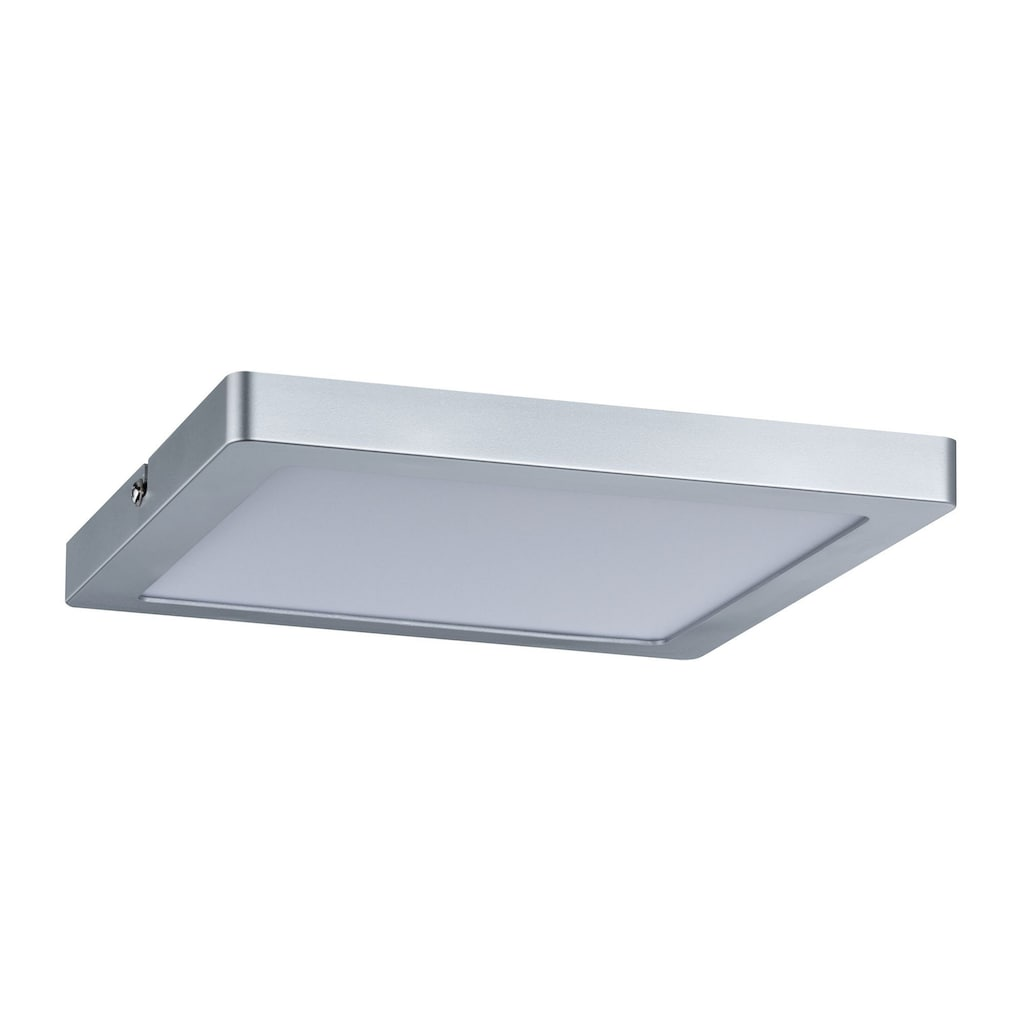 Paulmann LED Panel »Atria dimmbar eckig 20W Chrom matt«, 1 St., Warmweiß