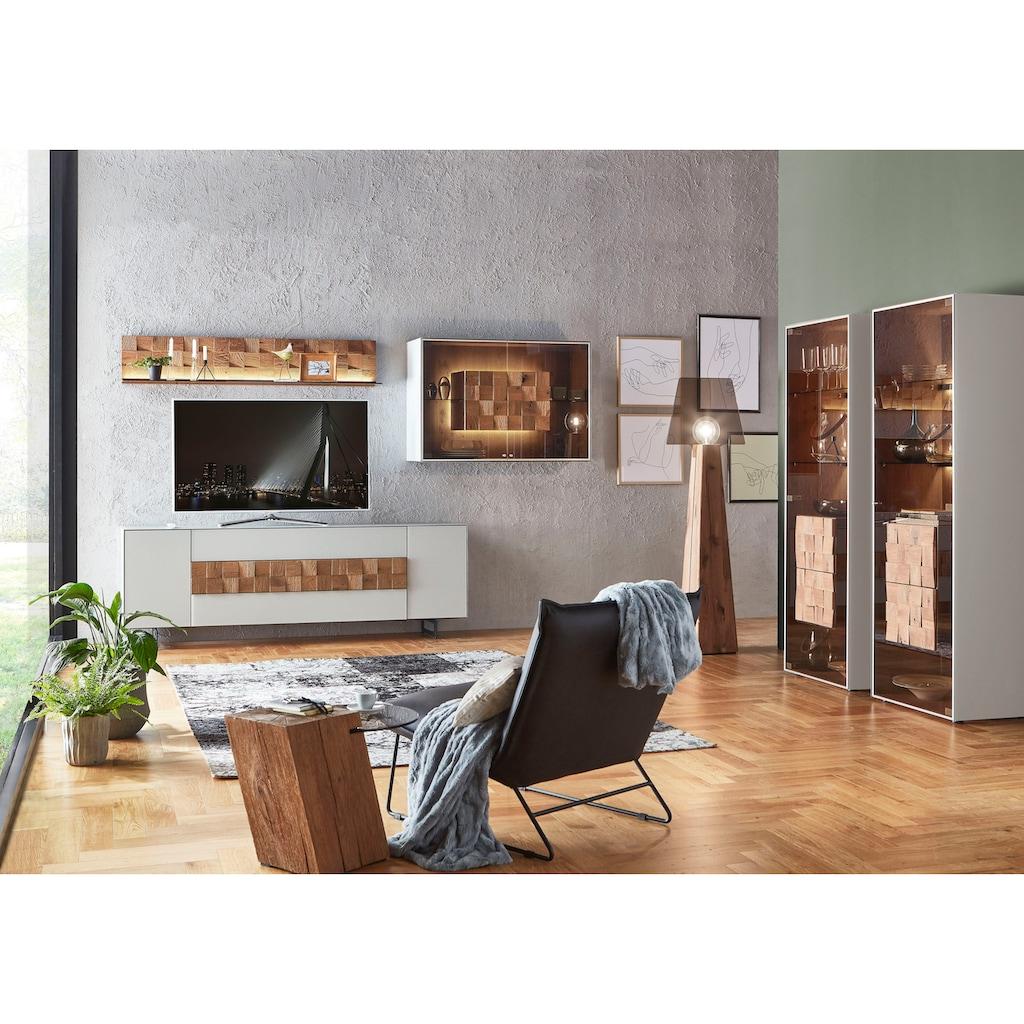 LEONARDO Beistelltisch »LIV«, Ablagefläche aus Parsolglas, Höhe 46 cm