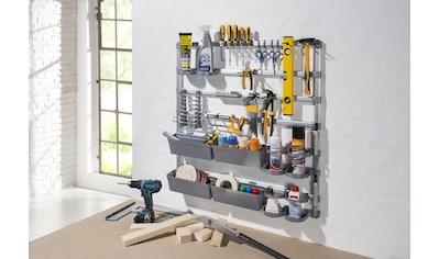 Ruco Ablageregal, Aluminium/Kunststoff, ideal für Werkstatt, Garage oder Hobbyraum kaufen