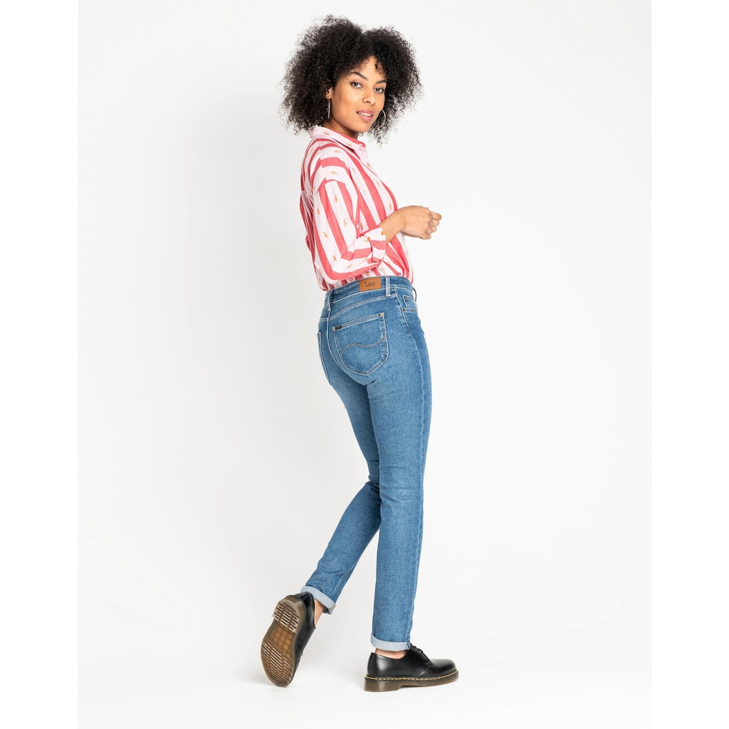 Lee® Slim-fit-Jeans »Elly«, Mid Waist
