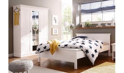 Home affaire Schlafzimmer-Set »Indra«, (Set, 2 tlg.), bestehend aus 140er Bett und 3-türigem Schrank kaufen