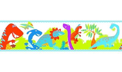 Bordüre »Dino roar«, selbstklebend, 5m kaufen