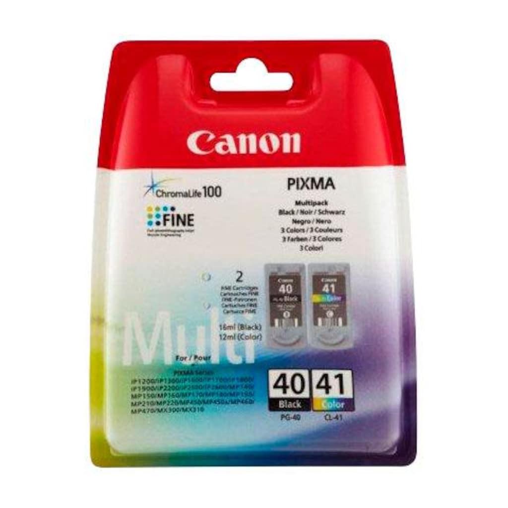 Canon Tintenpatrone »PG-40/CL-41 Kombi-Pack: schwarz, cyan, magenta, gelb«