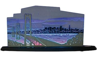 Weigla LED Dekolicht »San Francisco«, 1 St., Neutralweiß, beidseitiges Motiv/ Motiv... kaufen