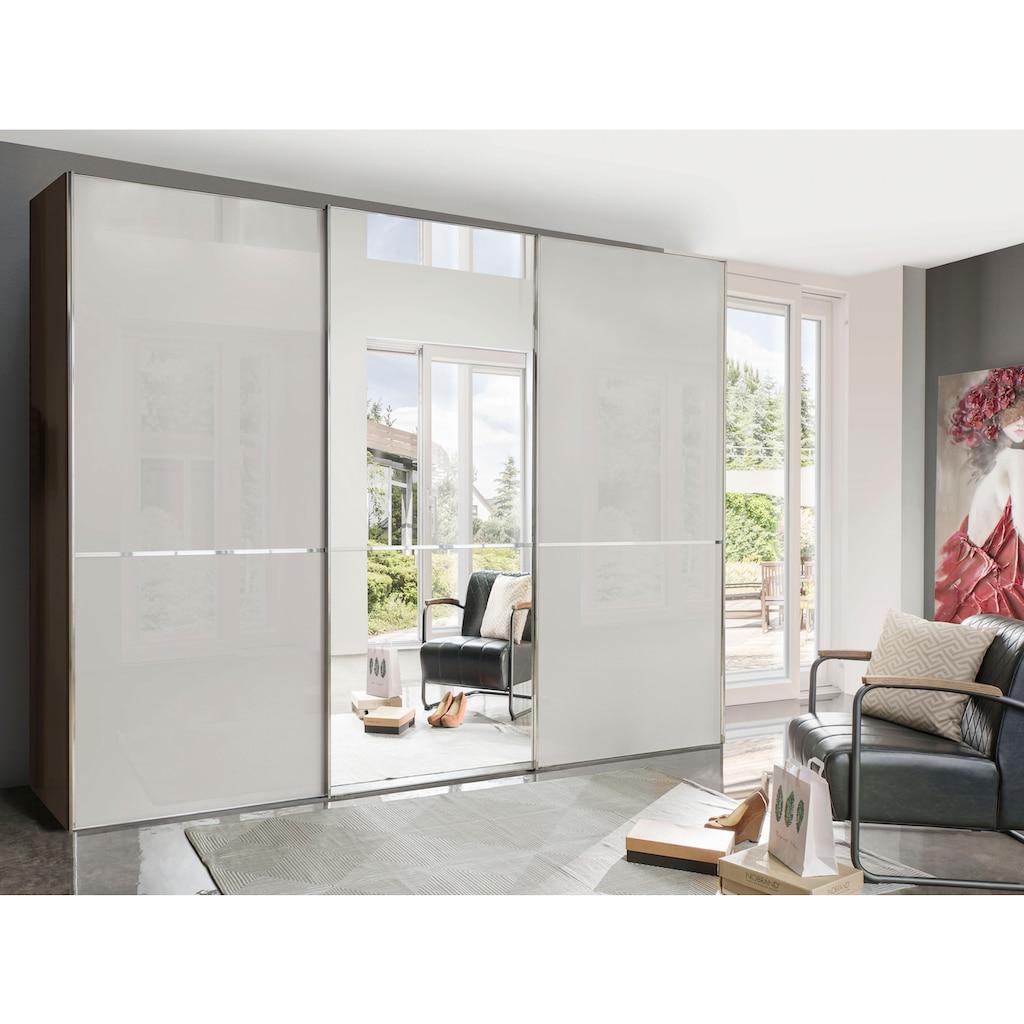 WIEMANN Schwebetürenschrank »Shanghai«, Glasfront und Spiegel