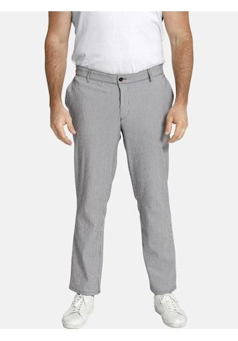 Charles Colby Stoffhose »BARON PHARRELL«, elastische Seersucker Hose kaufen