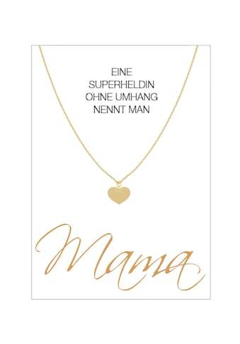 HERZ - KARTE Silberkette »Mama« kaufen