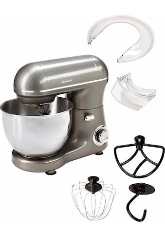 Hanseatic Küchenmaschine 439232 mit praktischem Zubehör und stufenloser Geschwindigkeitsreglung, 600 Watt, Schüssel 4 Liter kaufen