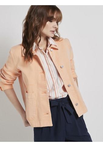 TOM TAILOR Cargojacke »Jeansjacke mit großen Taschen« kaufen