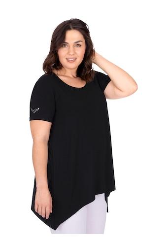 Trigema Long - Shirt mit edlen Strass - Steinen kaufen