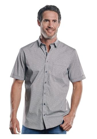 Engbers Kurzarmhemd, mit einzigartigen Knöpfen kaufen