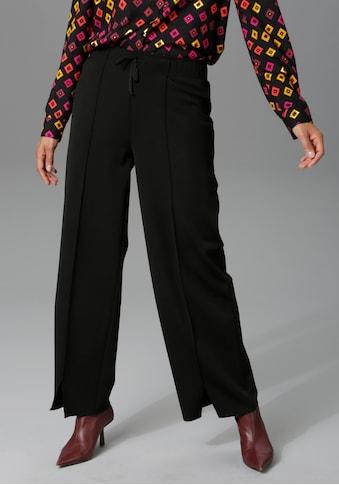 Aniston CASUAL Schlupfhose, mit Schlitz am Beinabschluss kaufen
