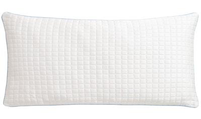 RIBECO Kopfkissen »Olaf«, Füllung: Polyester, Bezug: Baumwolle & Polyester, (1 St.),... kaufen