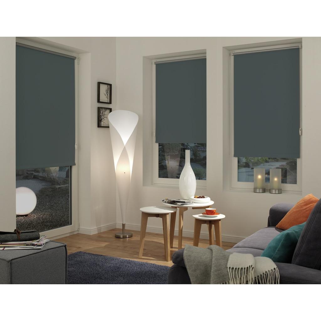 GARDINIA Seitenzugrollo »EASYFIX Rollo Thermo ENERGIESPAREND«, verdunkelnd, energiesparend, ohne Bohren, lichtundurchlässig, höchste Lichtreflektion