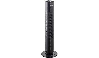 bestron Turmventilator »mit Schwenkfunktion«, Höhe: 75 cm, 50 W, Schwarz kaufen