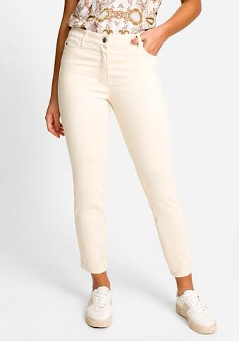 Olsen 5-Pocket-Hose, mit Verzierung auf den Gesäßtaschen kaufen