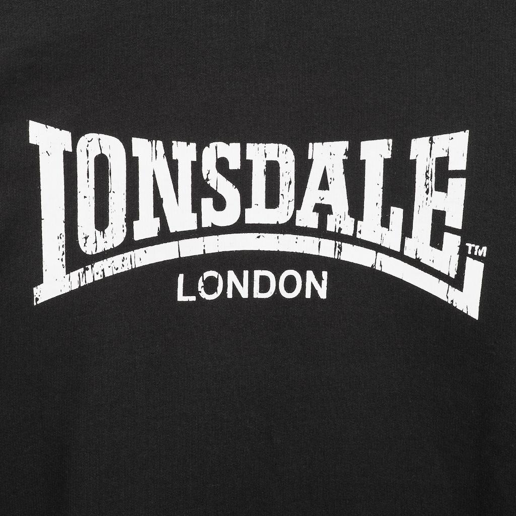 Lonsdale Hoodie mit coolem Marken-Print