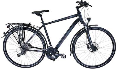 Performance Trekkingrad »Schwarz«, Shimano ALIVIO RD - M3100 Schaltwerk, Kettenschaltung kaufen