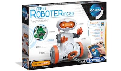 Clementoni® Experimentierkasten »Galileo - Mein Roboter MC5.0«, Made in Europe kaufen