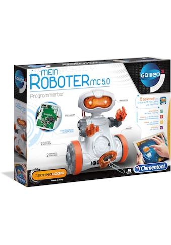 Clementoni® Experimentierkasten »Galileo - Mein Roboter MC5.0«, Made in Europe kaufen